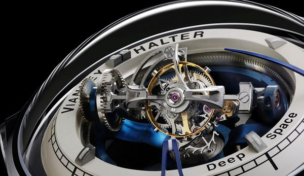 Discover the Deep Space Tourbillon from Vianney Halter