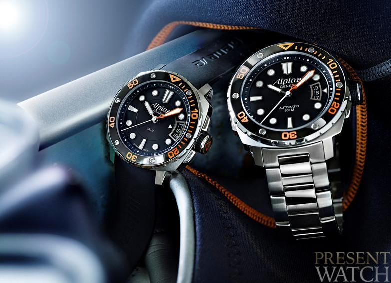 A watch for an extreme challenge - The Alpina Extreme Diver 300 Orange