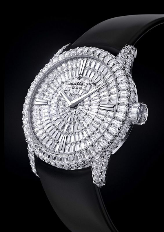 Vacheron Constantin Patrimony Traditionnelle High Jewellery