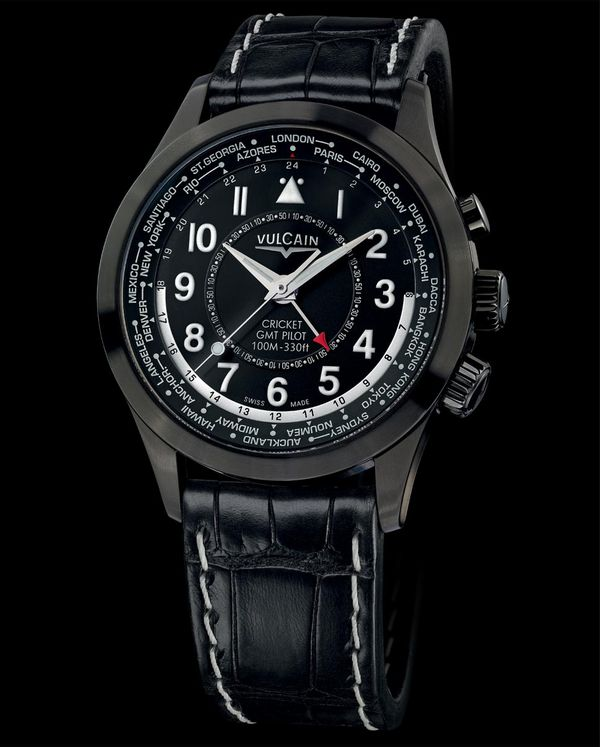 The new Vulcain Aviator GMT Pilot