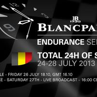 Blancpain Endurance Race Weekend 2013