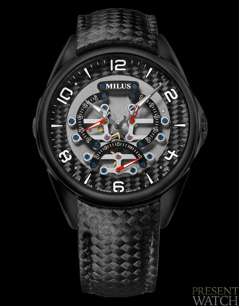 Milus Tirion TriRetrograde Collection