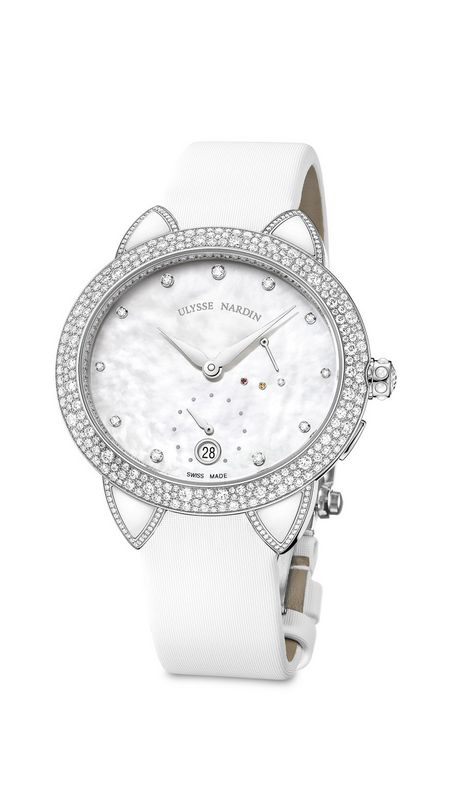 The First Ulysse Nardin Manufactured Caliber for ladies: The Jade