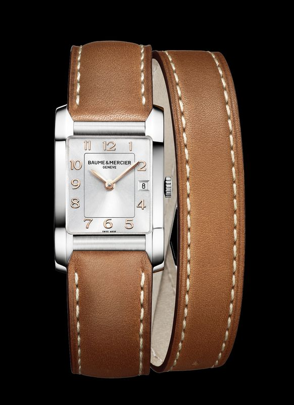 The new Baume & Mercier Hampton Lady 10108