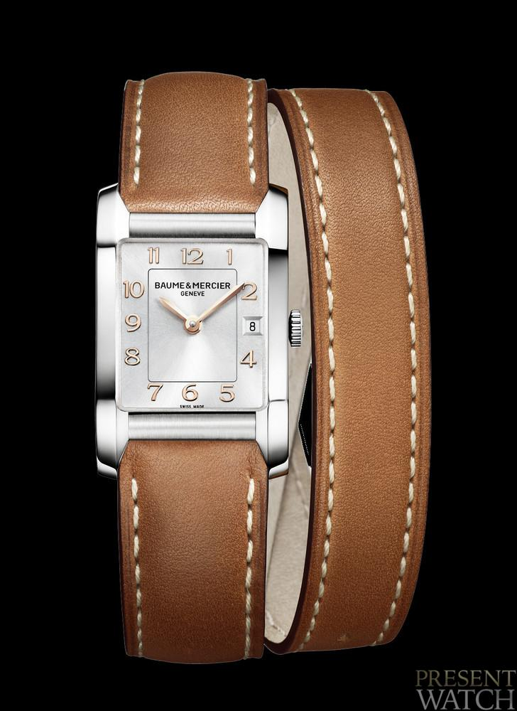 The new Baume & Mercier Hampton Lady 10110
