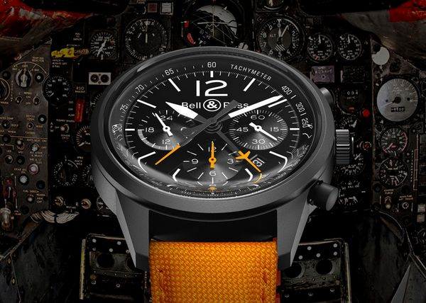 The new Bell & Ross Vintage BR 126 Blackbird