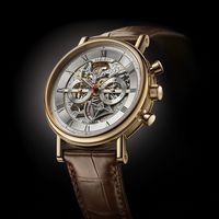 Introducing the new BREGUET Classique Chronograph openworked 5284 for ONLYWATCH