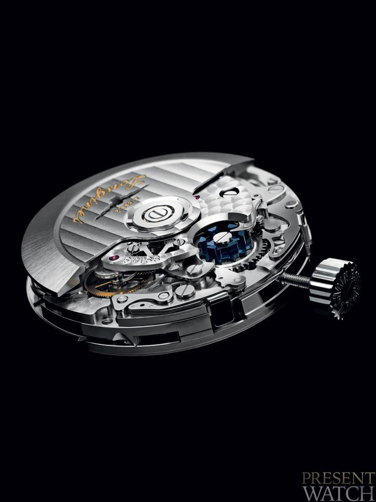 Longines column-wheel chronograph movement L788
