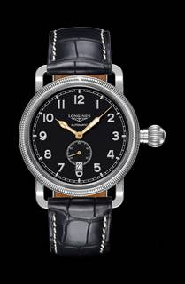 Avigation Oversize Crown basic version by Longines