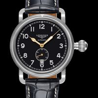 Strength and history with the Avigation Oversize Crown by Longines