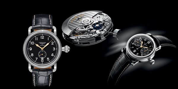 Avigation Oversize Crown Collection by Longines