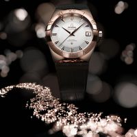Omega Constellation Sedna Is The First Watch Made of 18K Gold Alloy Sedna